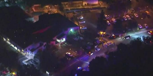 At Least Twelve Killed, Shooter Dead, In Shooting At California Bar