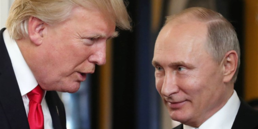 Trump Thinks Russia Should Be Readmitted To The G-7