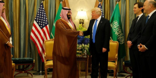 Trump Sides With Saudis In Murder Of Jamal Khashoggi