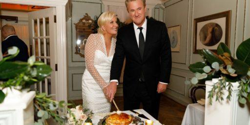 Joe Scarborough and Mika Brzezinski Married