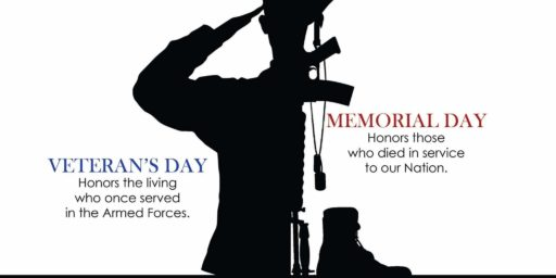 Veterans Day isn't Memorial Day