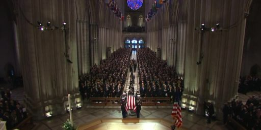 Washington Pays Tribute To George H.W. Bush