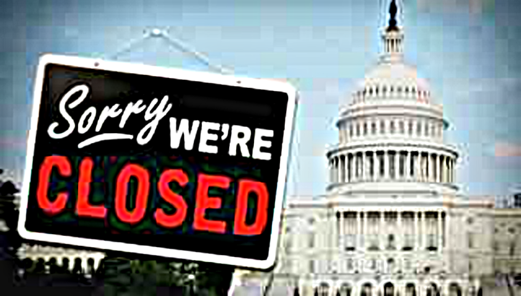 December 2018 Federal Government Shutdown Specials