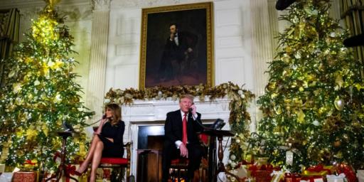 "Trump Tells Kid Calling Santa Hotline That Believing At His Age Is ""Marginal"""