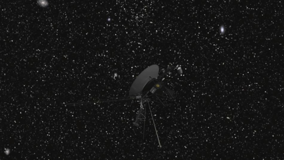 Voyager 2 Enters Interstellar Space