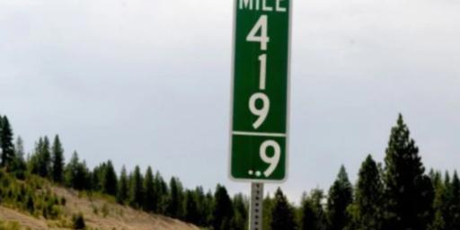 Goodbye Mile 420, Hello Mile 419.9