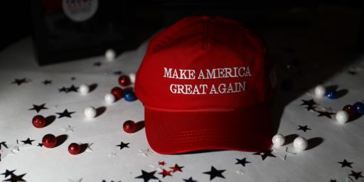 MAGA Hats the New White Hood?