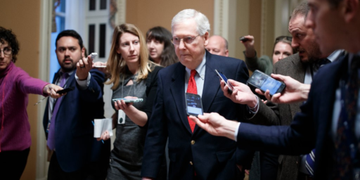 McConnell Faces Pressure From Within And Without Over Shutdown