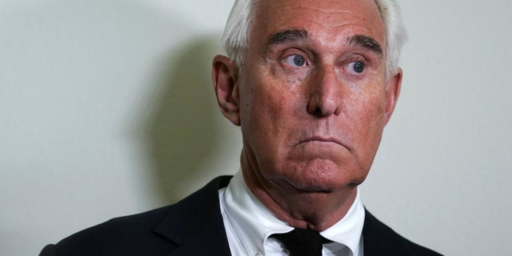 Roger Stone Indicted In Russia Probe