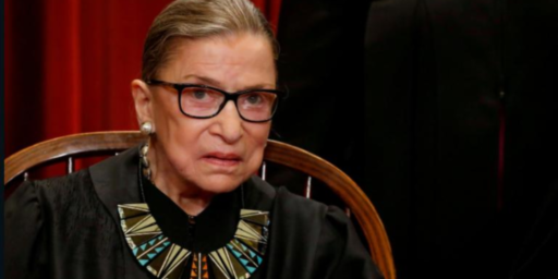 Ruth Bader Ginsburg Has Cancer Treatment For Second Time In A Year