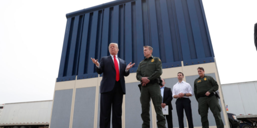 Judge Orders Halt To Trump's 'National Emergency' Border Wall Funding