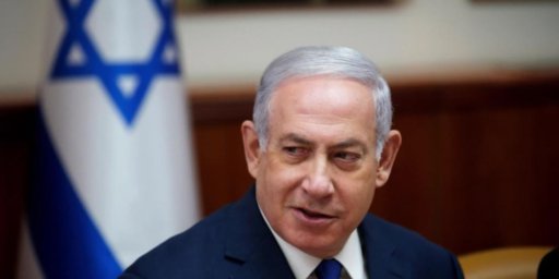 Netanyahu Throws Peace Process Out The Window