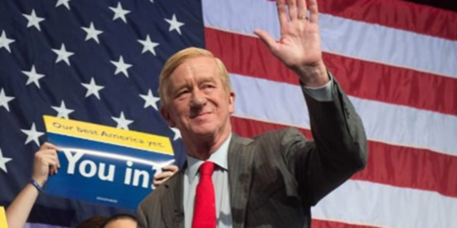 Bill Weld Launches Primary Challenge To Trump