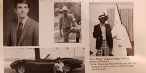 Virginia Governor Faces Pressure To Resign Over Racist Yearbook Photos
