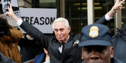 Roger Stone Ordered To Court Over Instagram Post Threatening Federal Judge