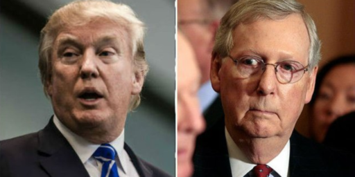 McConnell Warns Trump Against Declaring National Emergency Over Wall