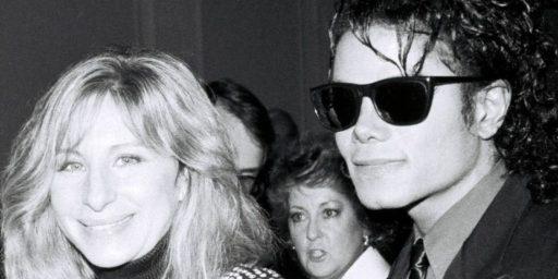 Barbra Streisand's Bizarre Defense of Michael Jackson's Child Molestation
