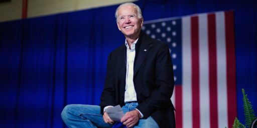 Biden Continues To Build A Lead In Early Polling