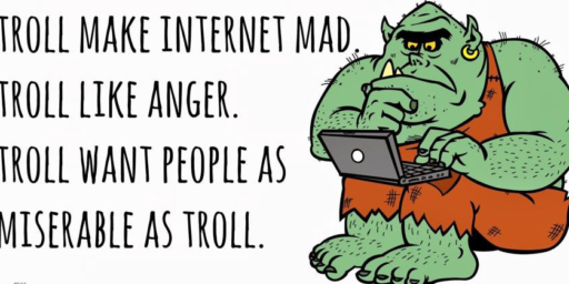 Feeding The Trolls Only Makes Them Stronger