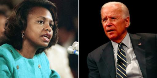 Joe Biden Reaches Out To Anita Hill