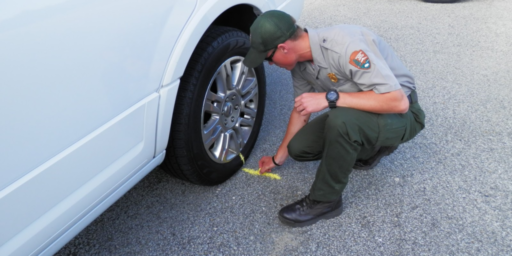 Tire Chalking And The Fourth Amendment