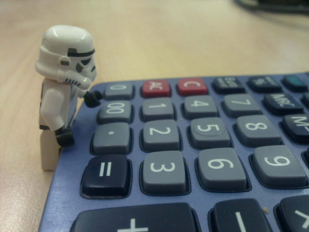 calculator storm trooper