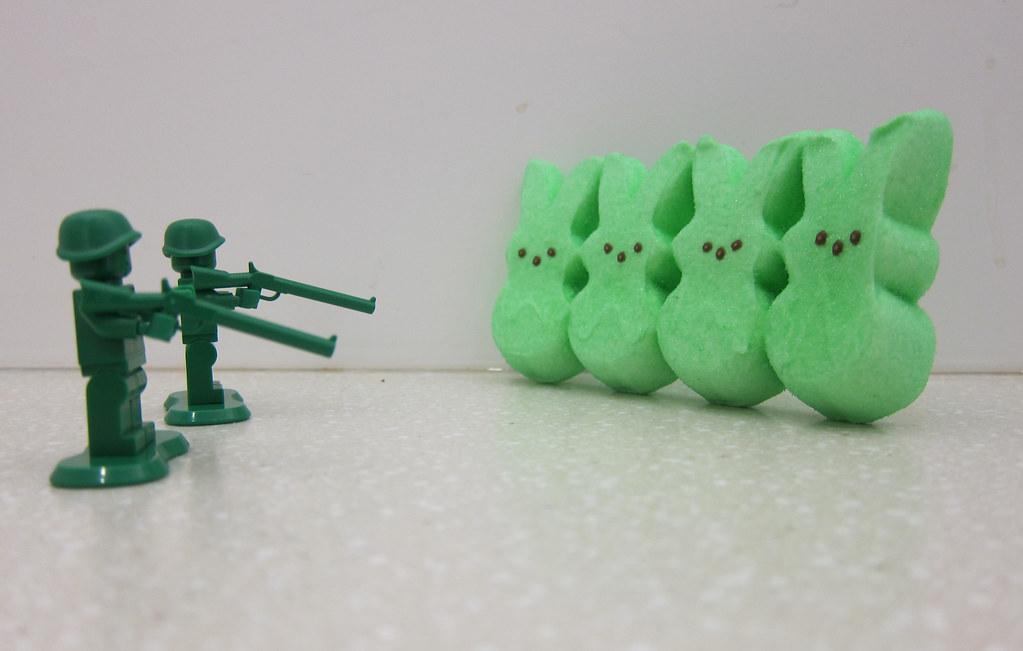 firing squad lego peeps