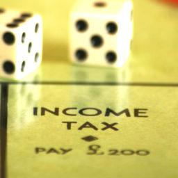 income tax monopoly board