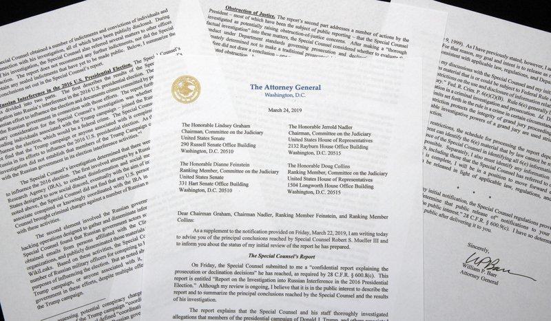 Mueller report: House committee approves subpoenas for full version