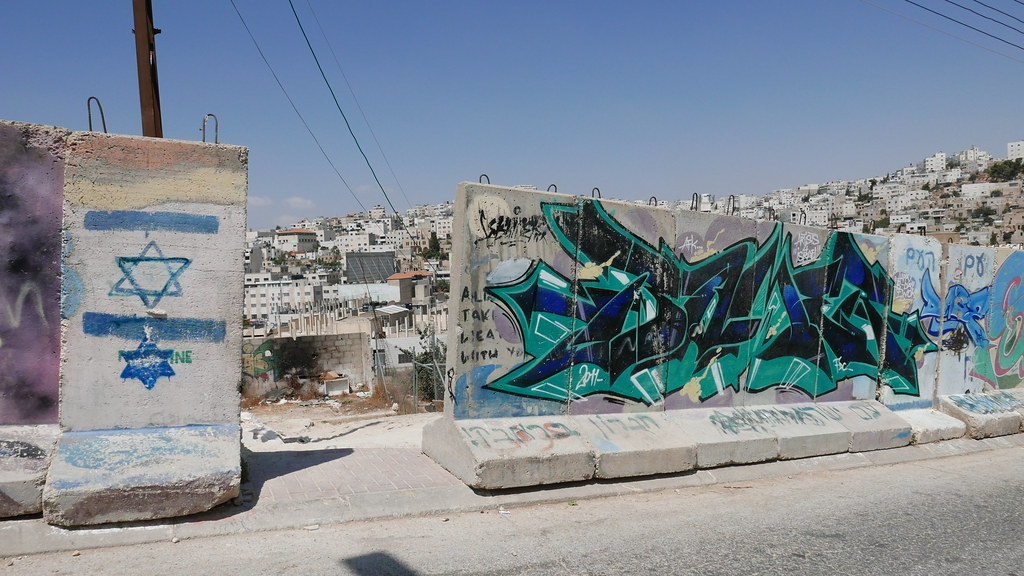 West Bank Separation Wall Hebron Israel