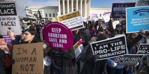 Supreme Court Issues Split Ruling On Indiana Abortion Law But Sends A Signal