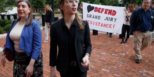 Chelsea Manning Heads Back To Jail