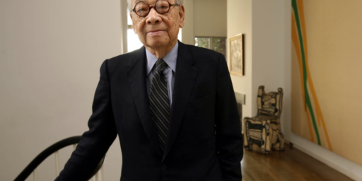 I.M. Pei, World Renowned Architect, Dies At 102