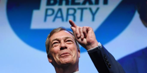 Nigel Farage's Brexit Party Scores Big Win In British E.U. Parliament Elections