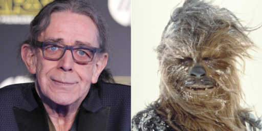 Peter Mayhew, Actor Behind Chewbacca's Mask, Dies At 74