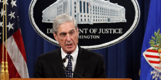 Robert Mueller To Testify Before Congress