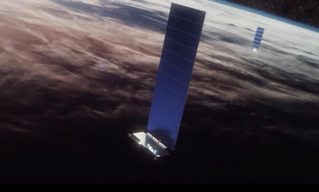 Spacex Begins Deployment Of Satellite Based Internet
