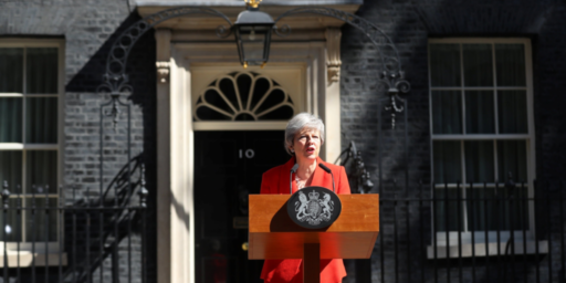Theresa May To Step Down As Conservative Party Leader On June 7th