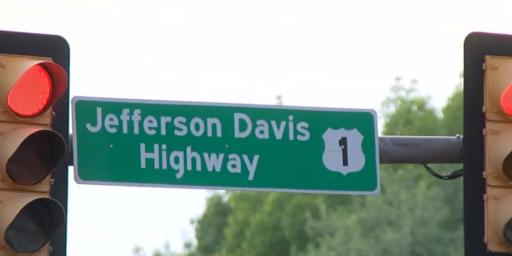 Jefferson Davis Highway Slowly Going Away