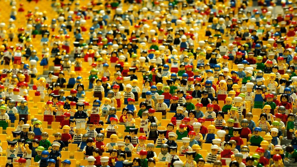 lego people crowd