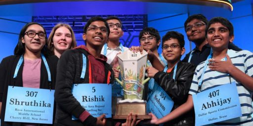 National Spelling Bee Ends in 8-Way Tie