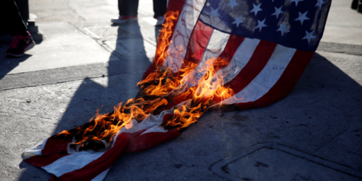Trump Supports Amendment To Ban Flag Burning. He's Wrong.
