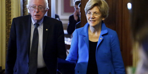 Elizabeth Warren Continues To Gain On Bernie Sanders