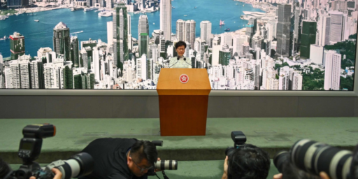 Hong Kong's Leader Declares Controversial Bill 'Dead,' Protesters Aren't Satisfied