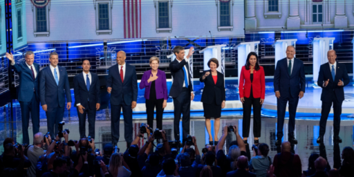 Democrats Clash In First Night Of First Debate