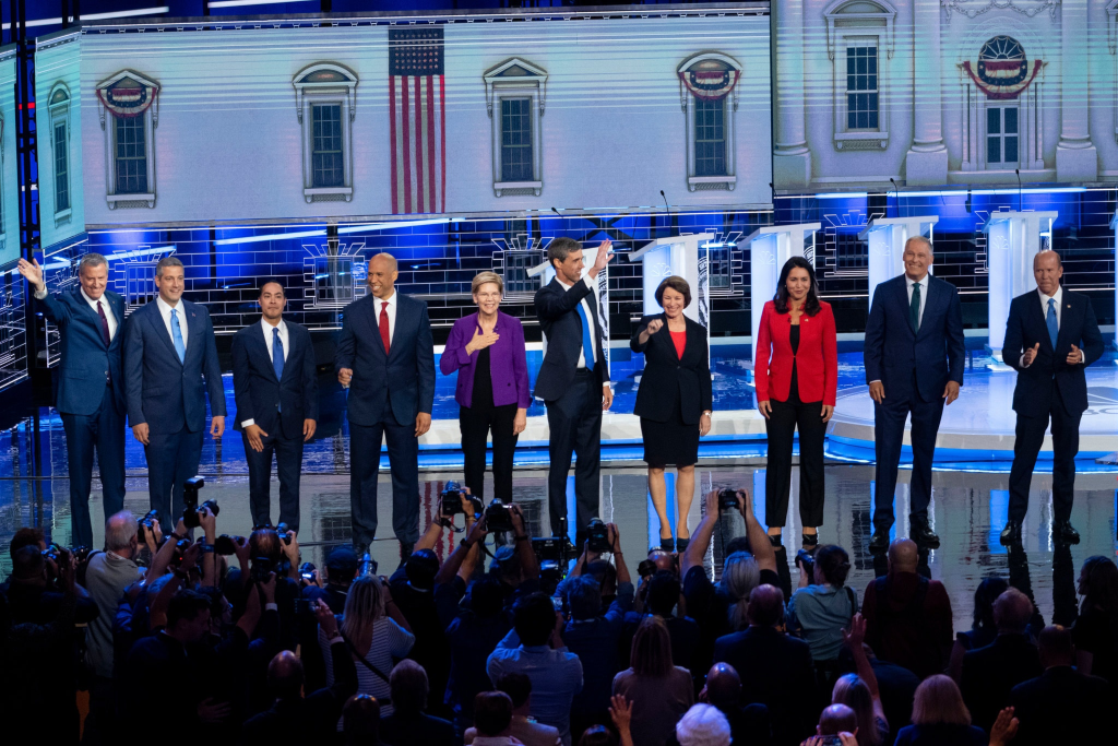 Democrats Clash In First Night Of First Debate