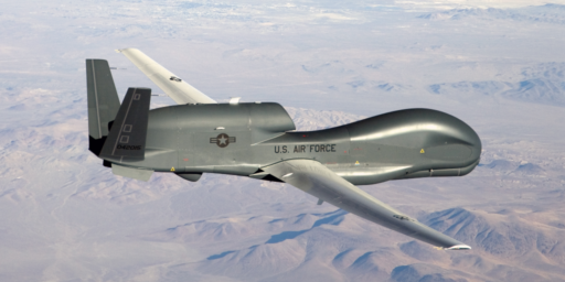 Iran Downs American Reconnaissance Drone As Tensions Continue To Increase