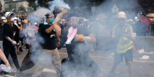 Hong Kong Protests Turn Violent, Authorities Delay Extradition Vote