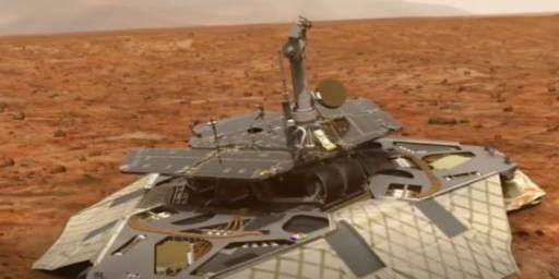 Mars Passes Gas