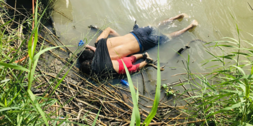 Amid Trump-Created Humanitarian Crisis, One Photograph Speaks A Thousand Words